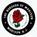 The Borough of Madison Red Rose Logo