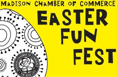 Madison Chamber of Commerce Easter Fun Fest logo
