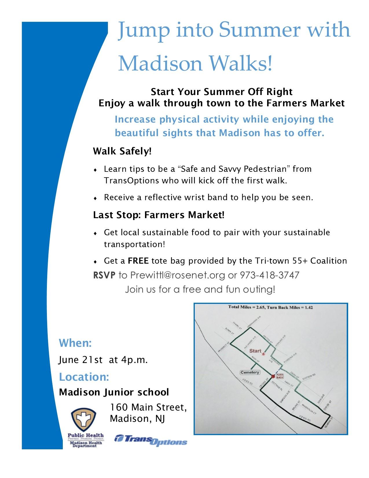 flyer mad walk