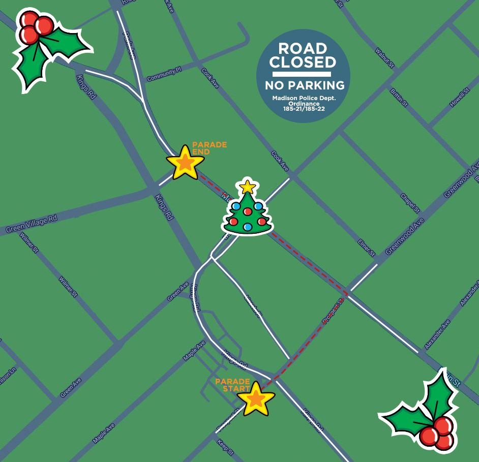Christmas Parade Route 2019