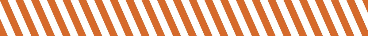 Orange and white banner